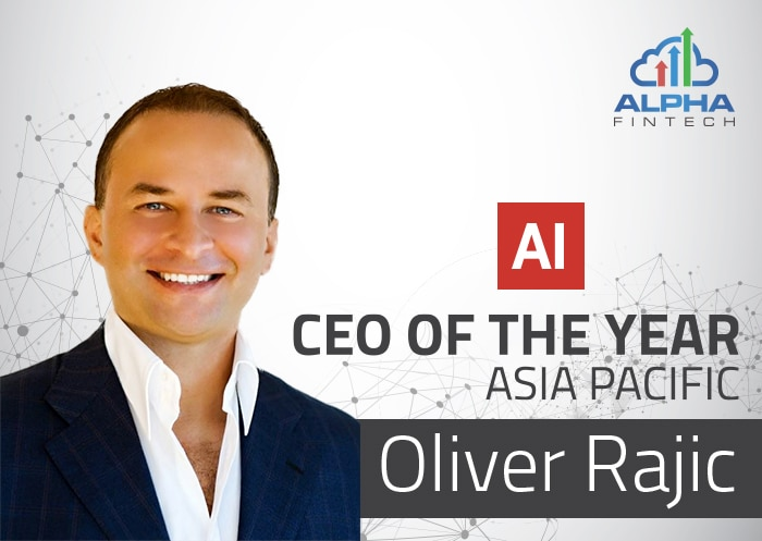 Oliver Rajic Awarded CEO of the Year – Asia Pacific